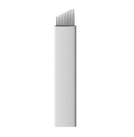 Micro Rezila 12 Pin Curved Flexi 25kom