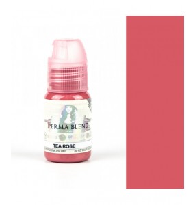 PERMA BLEND - INGA BABITSKAYA LIPS - TEA ROSE - 15ML