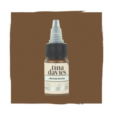 PERMA BLEND - TINA DAVIES - MEDIUM BROWN 15ML