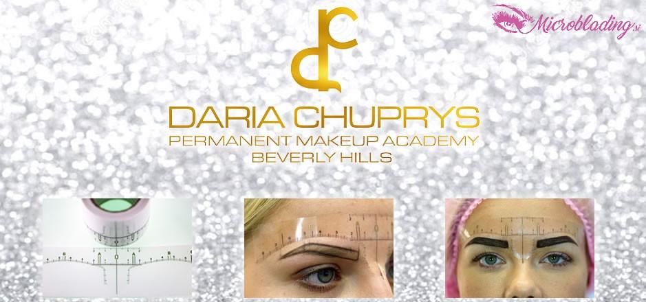Daria Chuprys Eyebrow Ruler